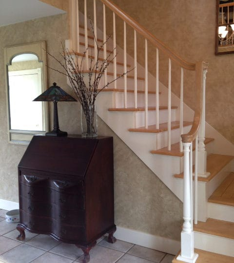 Stair Painting Refinishing