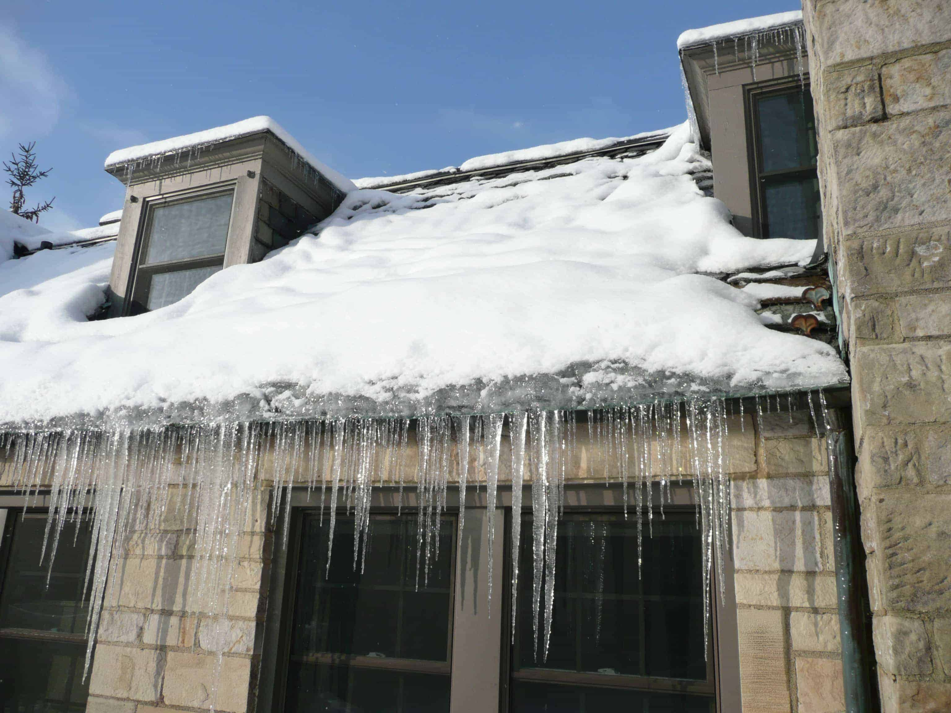 Image result for Dealing With Snow on the Roof